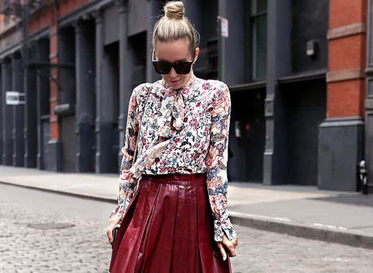 مدل لباس گلدار زیبا