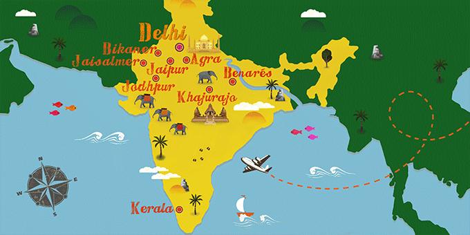 هندوستان یک کشور چند-زبانی به شمار میرود.