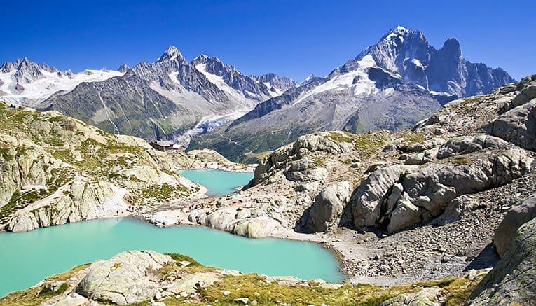 رشته کوه های آلپ در ایتالیا