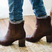 بوت ساق کوتاه خود را در پاییز و زمستان به این روش بپوشید