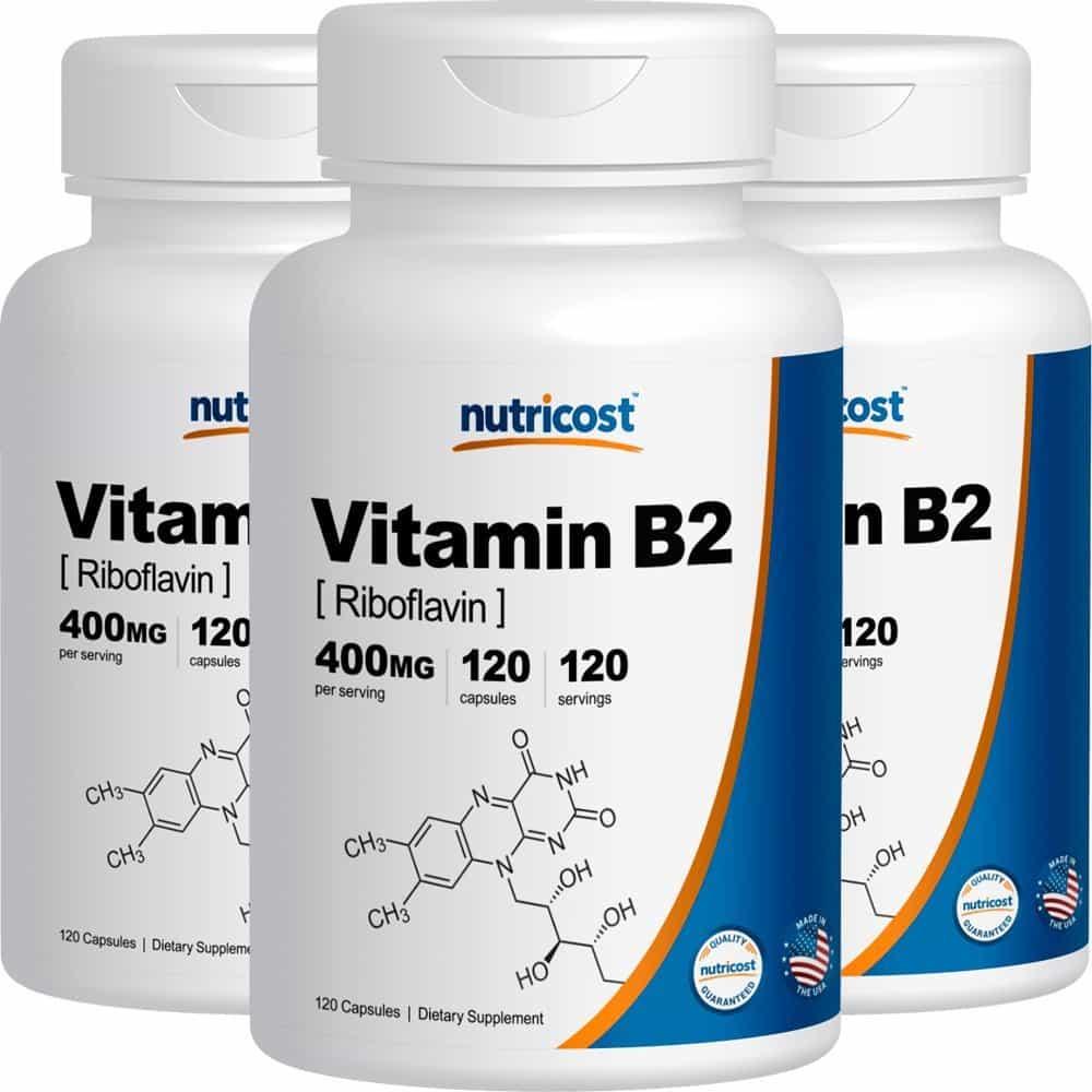 تداخلات ویتامین B2