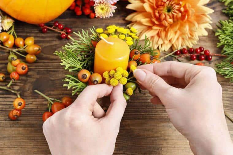 تزئین پاییزی خانه با رنگ، طرح و جلوههای زیبای فصل پاییز