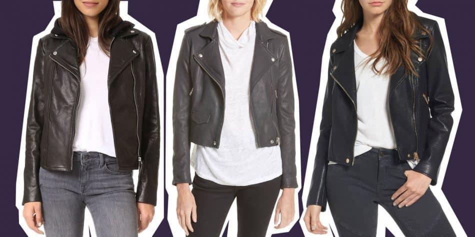 دامن چرم، کت چرم و لباسهای چرم زنانه را به این روش بپوشید