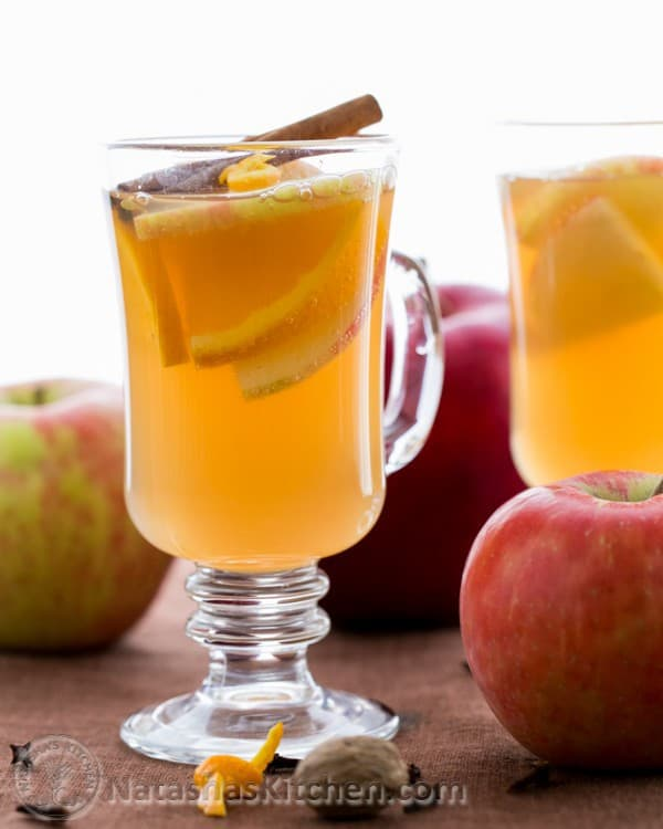 نوشیدنی سیب داغ