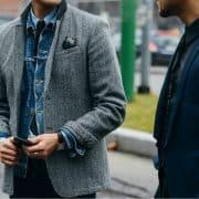 کت تک مردانه و ویژگیهای آن، کت تک را به این روش بپوشید