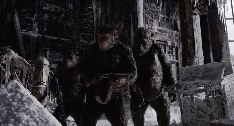جنگ برای سیاره میمونها