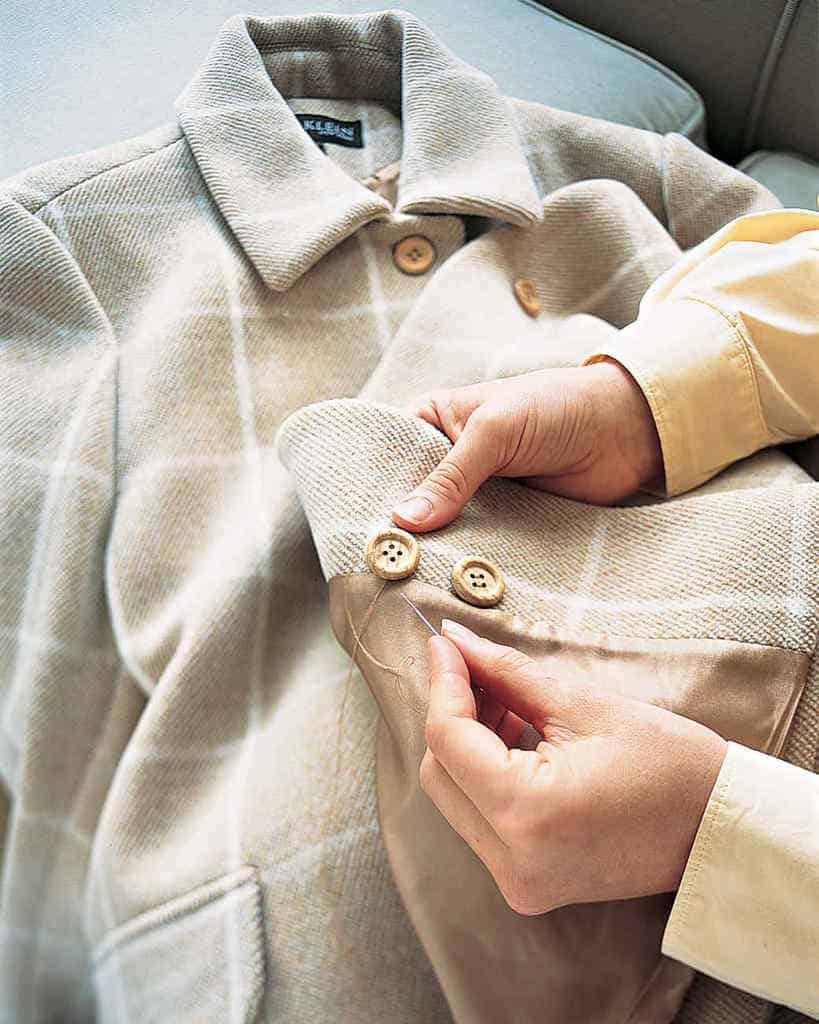 اندازه کردن لباس
