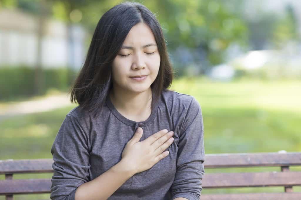 درد سینه در زنان