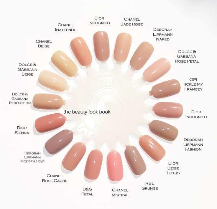 رنگ لاک پایه و همرنگ ناخن مناسب برای رنگ پوست شما چیست؟