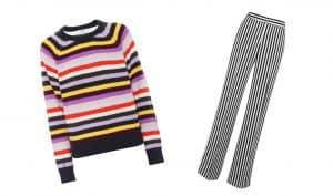 لباس راه راه و ویژگیهای آن، چطور لباس راه راه بپوشیم؟