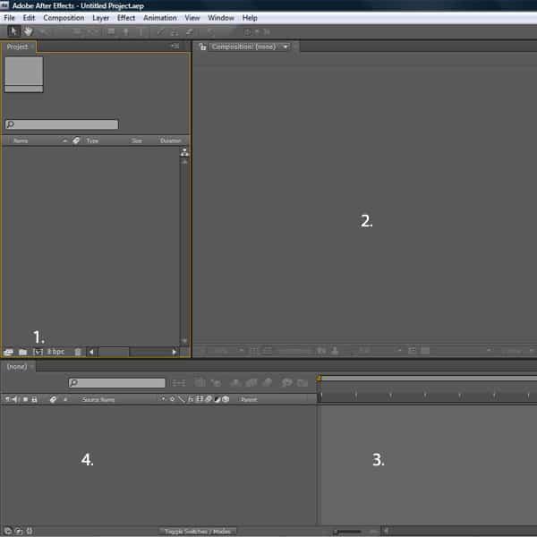 اضافه کردن تکههای فیلم یا کلیپ ها (Footage)