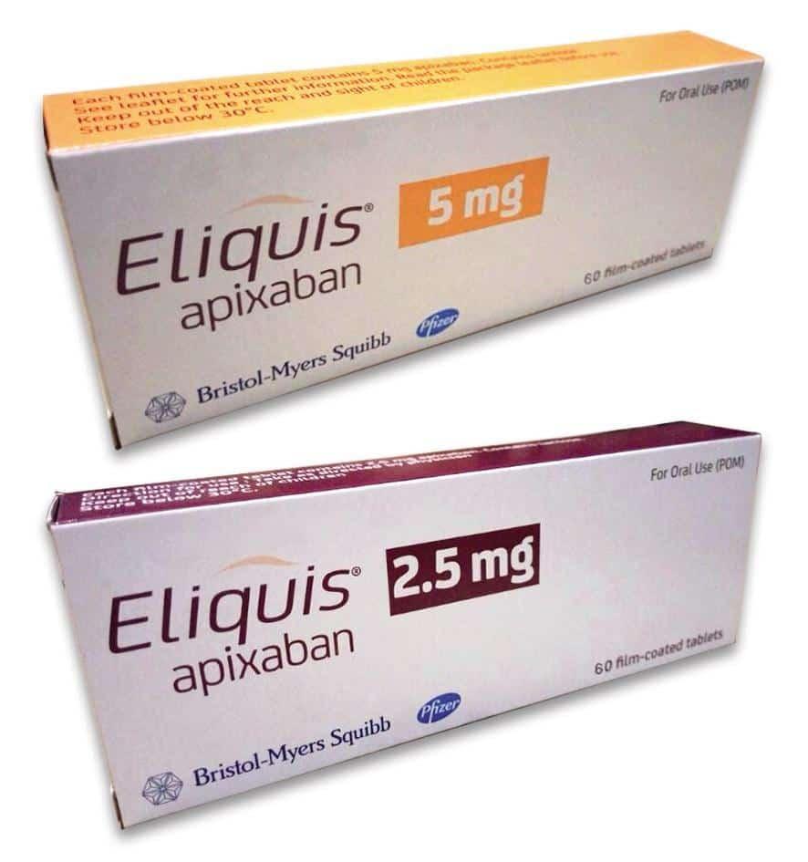 بسیاری از دارو ها ممکن است با آپیکسابان تداخل داشته باشند.