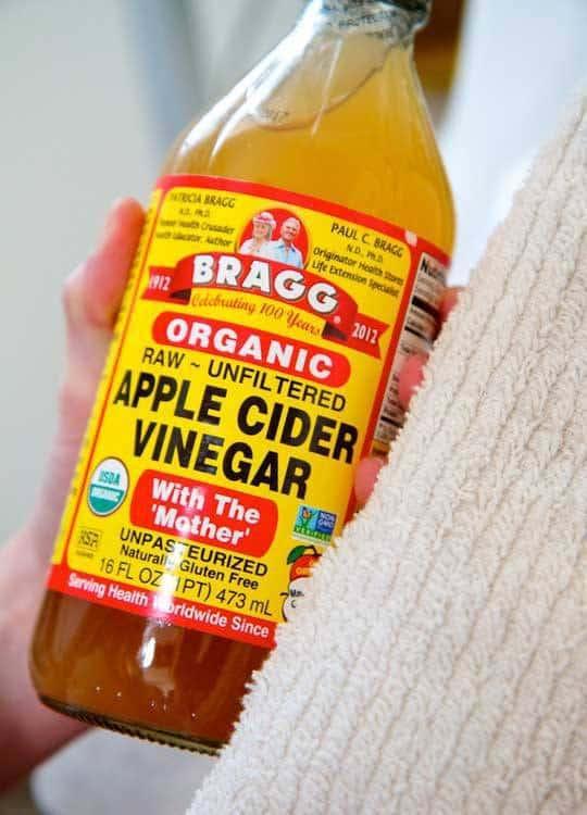 درمان سردرد با سرکه سیب