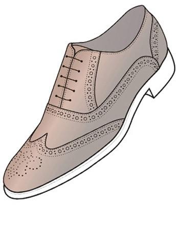 انواع کفش رسمی چرم مردانه