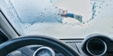 یخ زدایی شیشه ماشین