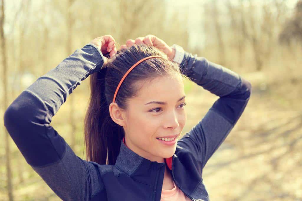 ورزش بدون خراب شدن موها