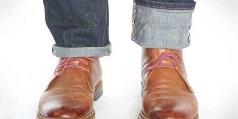 تا کردن شلوار جین یا جمع کردن آن بالای بوت، کدام درست است؟