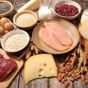 عضله سازی با غذاها