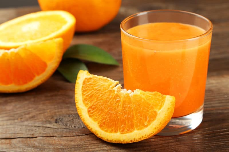 مزایای تغذیه ای آب پرتقال