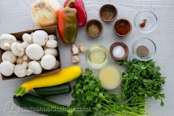 کباب سبزیجات