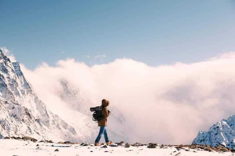 کوهنوردی در سرما