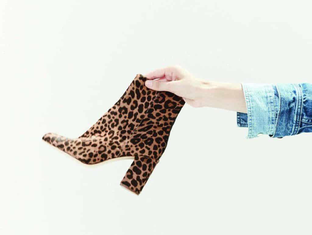 بعد از بیست و پنج سالگی دیگر هرگز این کفشها را نپوشید