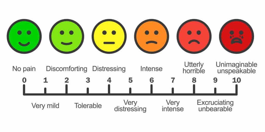 مقیاس درد چیست، بر چند نوع است و چگونه از آن استفاده میشود؟