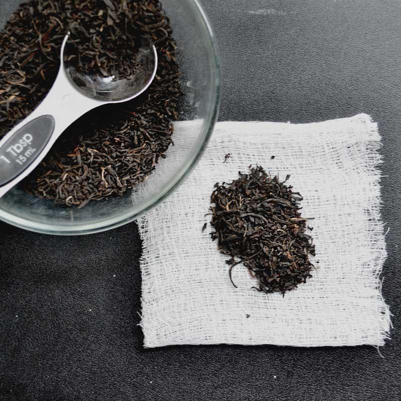 چای کیسهای خانگی