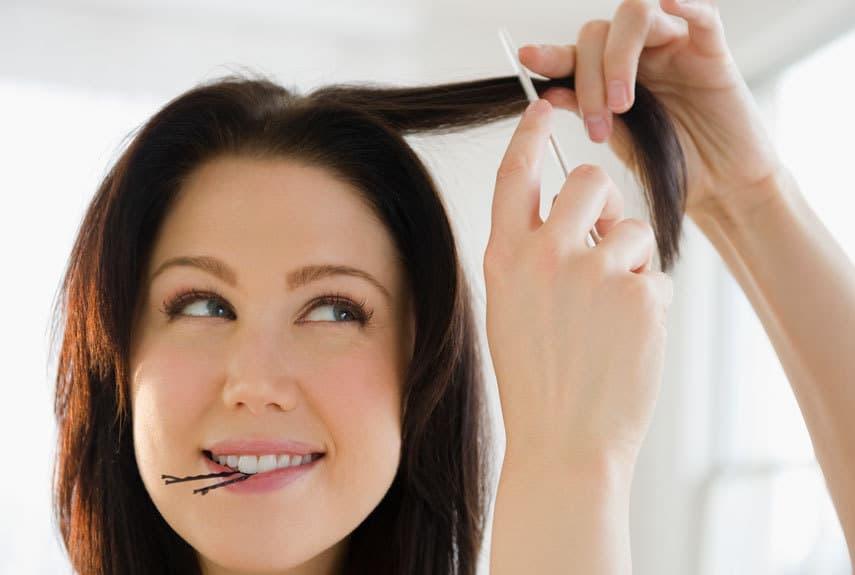 چند مدل موی زنانه ساده و زیبا برای باریک نشان دادن صورت