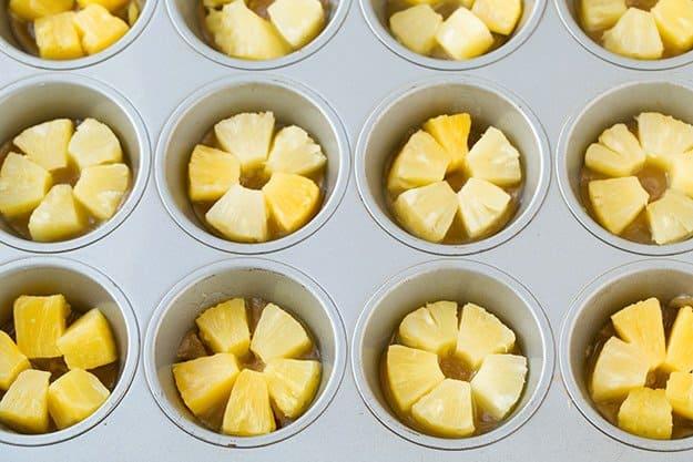 کاپ کیک آناناس