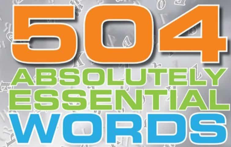 یادگیری سریع و کاربردی ۵۰۴ لغت انگلیسی پر کاربرد – درس سوم