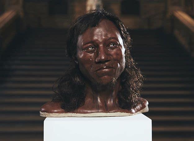 چهره بازسازی شده مرد چداری
