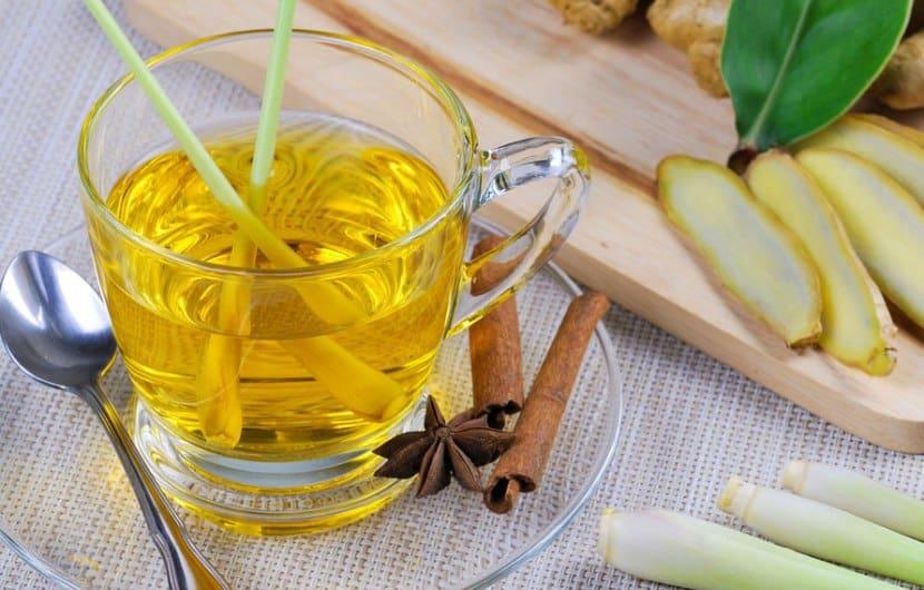 چای علف لیمو