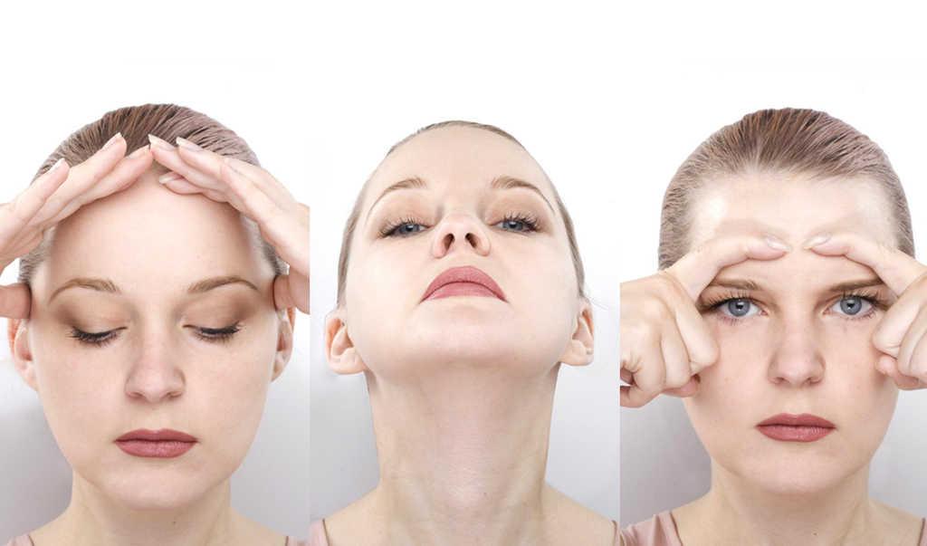 چند حرکت یوگا برای صورت