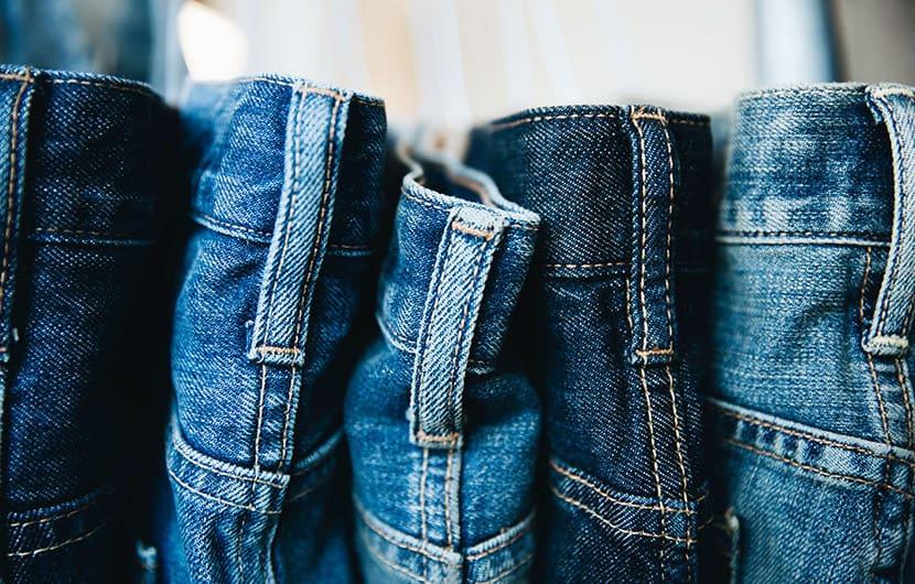 اندازه کردن شلوار جین ،شلوار تنگ یا گشاد را به این روش اندازه کنید 1 اندازه کردن شلوار جین ،شلوار تنگ یا گشاد را به این روش اندازه کنید