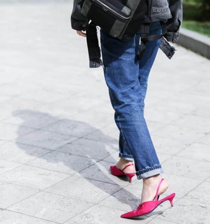 اندازه کردن شلوار جین ،شلوار تنگ یا گشاد را به این روش اندازه کنید 6 اندازه کردن شلوار جین ،شلوار تنگ یا گشاد را به این روش اندازه کنید