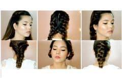 بافت مو و انواع آن، روشهای مختلف برای بافتن موی شما