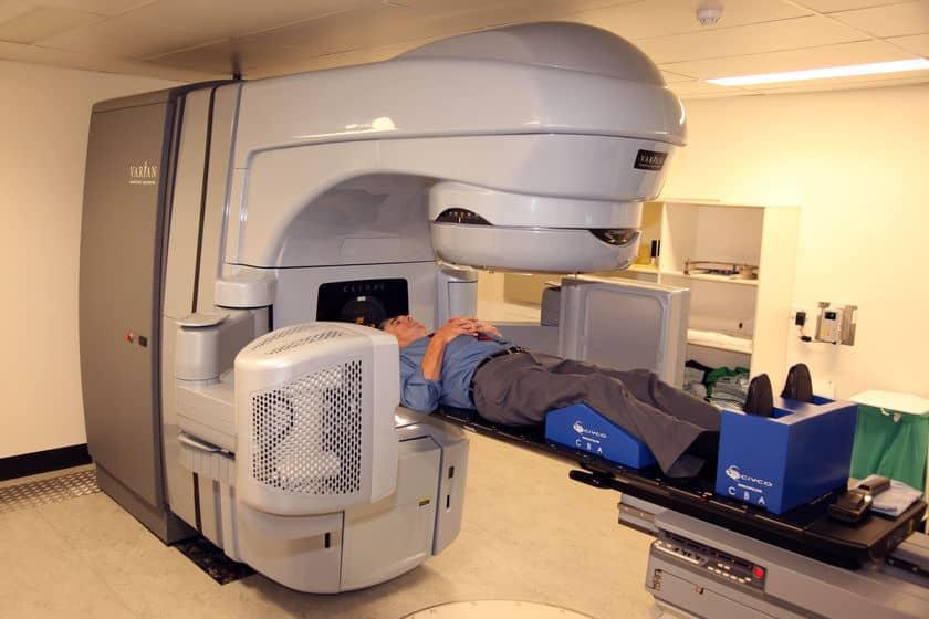 درمان سرطان با اشعه