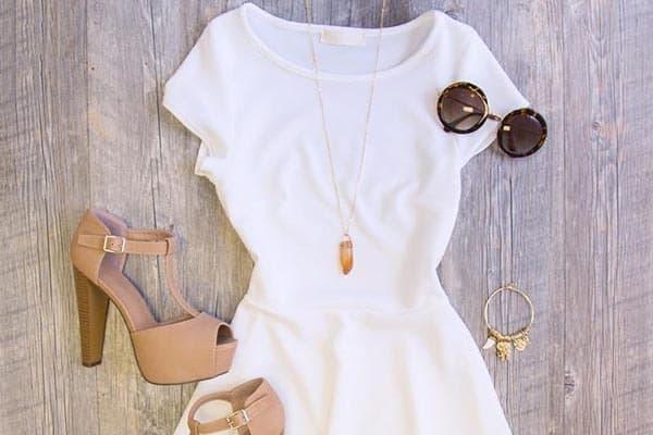هفت نکته برای انتخاب لباس سفید زنانه