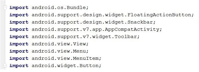 کدهای تولید شده توسط خود برنامه