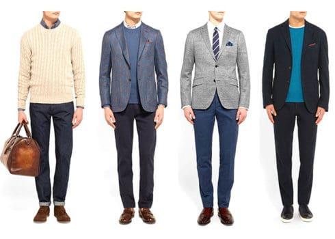 ویژگیهای لباس غیررسمی کاری برای آقایان