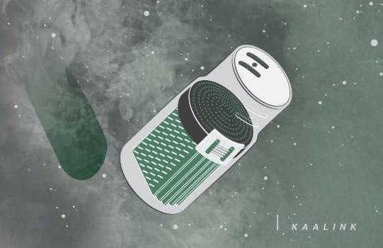 Kaalink، دستگاهی برای تبدیل آلودگی هوا به جوهر