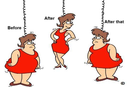 رژیم گرفتن بصورت ناپایدار باعث اضافه وزن میشود