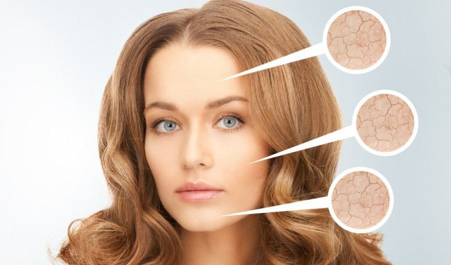 آرایش پوست خشک و روش صحیح انجام آن در چند مرحله
