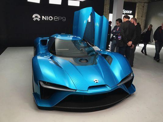 خودروی خودران راحت تر و دیوانه وار تر از NIO Eve و EP9 نمی شوند .