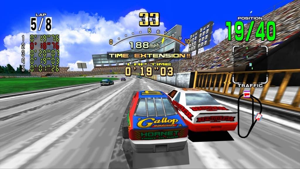 سبک Arcade تجربه لذت بخش و مسابقه ی سرعتی را برای شما فراهم می کند .