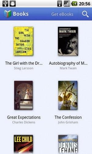 اپلیکیشن Google Books (بهترین اپلیکیشن های کتاب خوان)