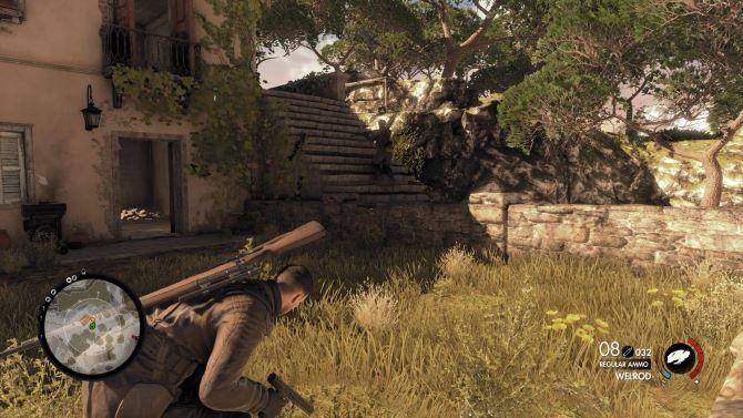 اجازه دهید ابتدا یک بخش منفی را بیرون بگذاریم sniper elite 4