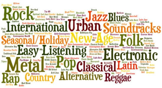 سبک موسیقی و انتخاب ساز موسیقی