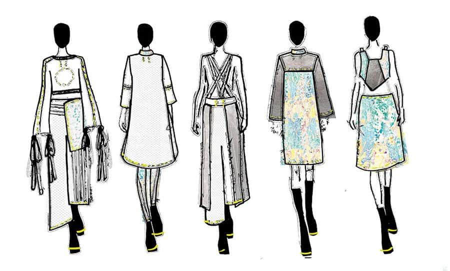 عناصر بصری پایه و کاربرد و تاثیر آنها در طراحی لباس